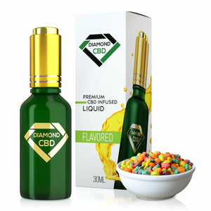 Diamond CBD - Oil Silly Rabbit Flavor Tincture 30ml