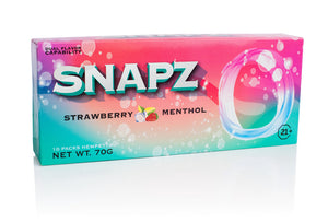 Snapz - Hemp Smokez Strawberry Menthol 10ct For Sale