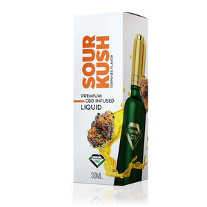 Diamond CBD - Oil Sour Kush Flavor Tincture 30ml.