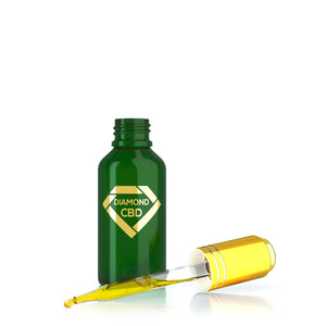 Diamond CBD - Oil Tangerine Flavor 30ml.