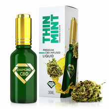 Load image into Gallery viewer, Diamond CBD - Oil Thin Mint Cookies Flavor Terpenes 30ml