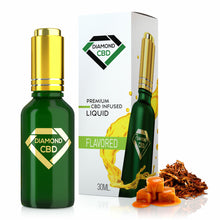 Load image into Gallery viewer, Diamond CBD - Oil Tobacco Caramel Tincture 30ml.
