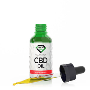 Diamond CBD - Oil Unflavored 1500mg 30ml