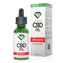 Load image into Gallery viewer, Diamond CBD - Oil Unflavored 1500mg 30ml