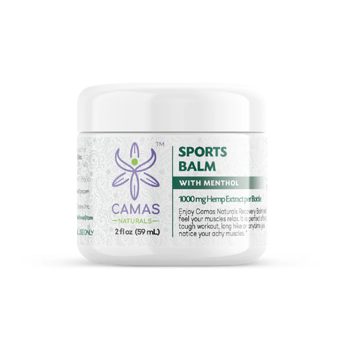 Camas Naturals - CBD Topical Sports Balm 1000mg For Sale