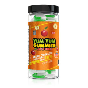 Yum Yum - CBD Gummies Apple Rings 1000mg