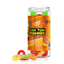Load image into Gallery viewer, Yum Yum - CBD Infused Gummies Sour Gummy Rings 1000mg