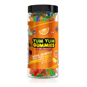 Yum Yum - CBD Gummies Sour Snakes 1000mg