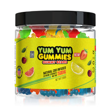 Load image into Gallery viewer, Yum Yum - CBD Gummies Infused Edible Gummy Bears 1500mg