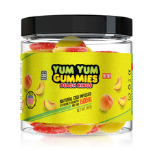 Load image into Gallery viewer, Yum Yum - CBD Gummies Peach Rings Extreme Strength 1500mg
