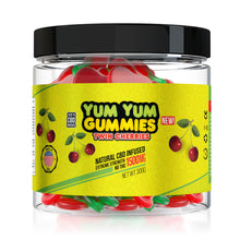 Load image into Gallery viewer, Yum Yum - CBD Gummies Infused Twin Cherries Slices 1500mg