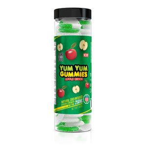 Yum Yum - CBD Gummies Apple Rings 250mg