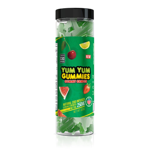 Yum Yum - CBD Gummies Crocs 250mg