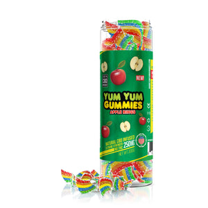 Yum Yum - CBD Gummies Infused Rainbow Bites 250mg Edible Full Spectrum