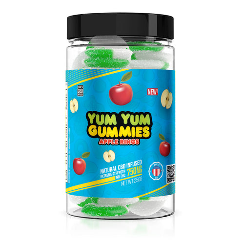 Yum Yum - CBD Gummies Apple Rings 750mg