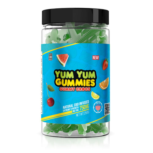 Yum Yum - CBD Gummies Crocs 750mg