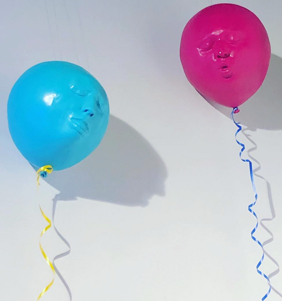 Balloon head (a large child having lost thier head)