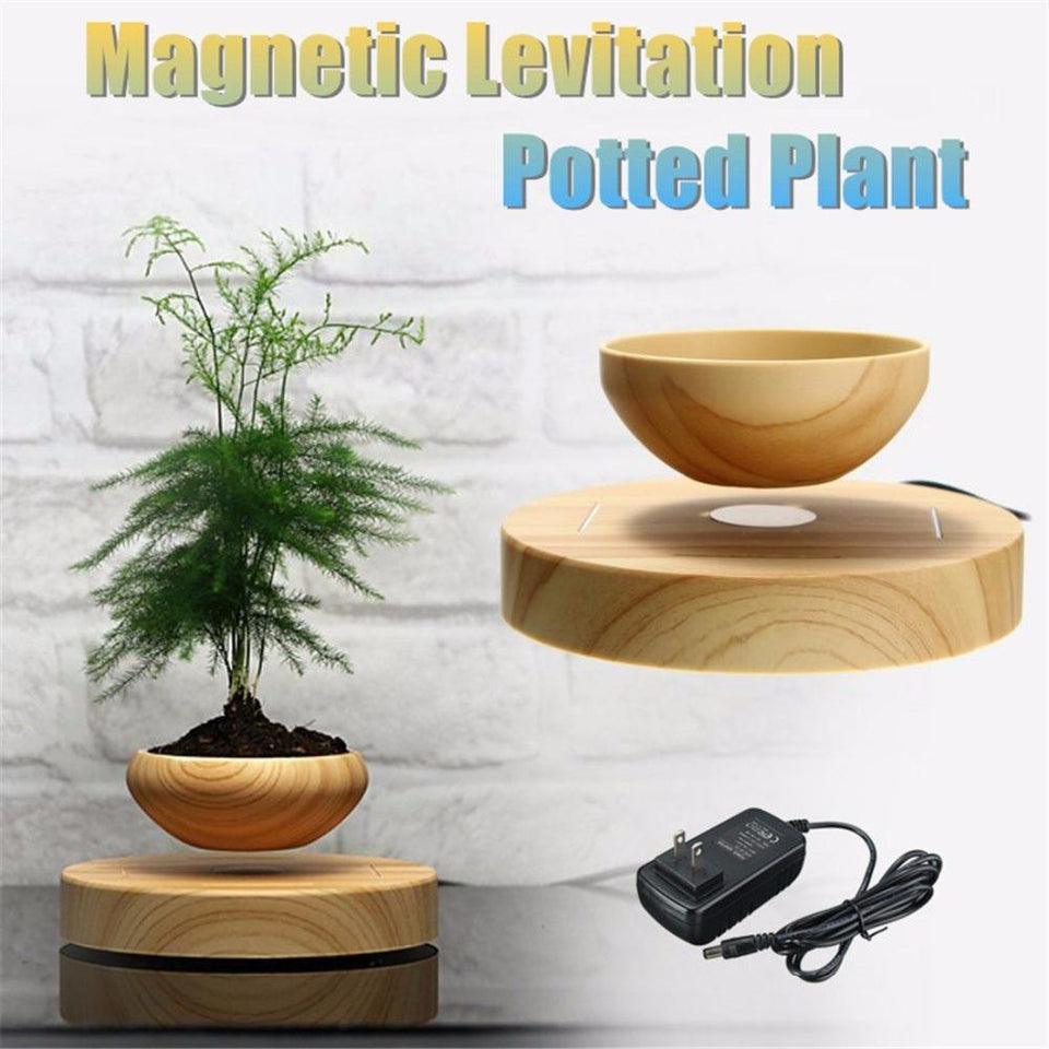 Magnetic Levitation Floating Bonsai Plant Pot