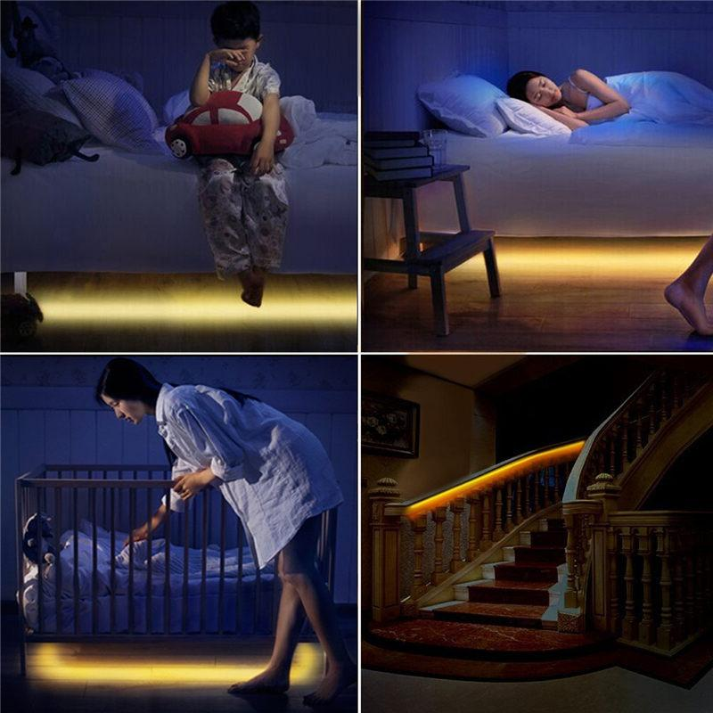 Dimmable Motion Sensor Night Activated Bed Light