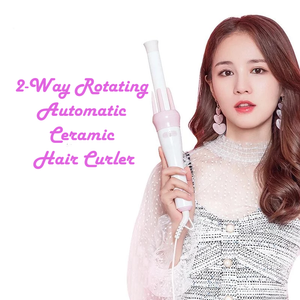 2-Way Rotating Automatic Ceramic Hair Curler