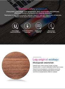 Wood Wireless Charger