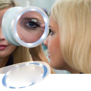 360 LED 8x Magnification Mirror