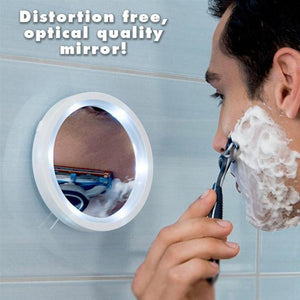 360 LED 5x Magnification Mirror