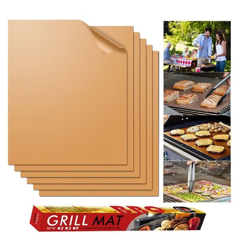 BBQ Grill Mat Copper