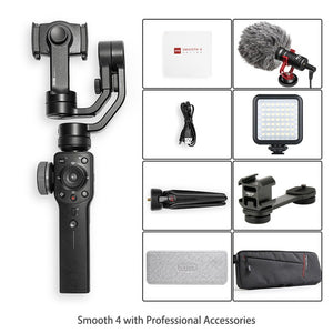 Smooth 4 3-Axis Handheld Gimbal Smartphone Stabilizer