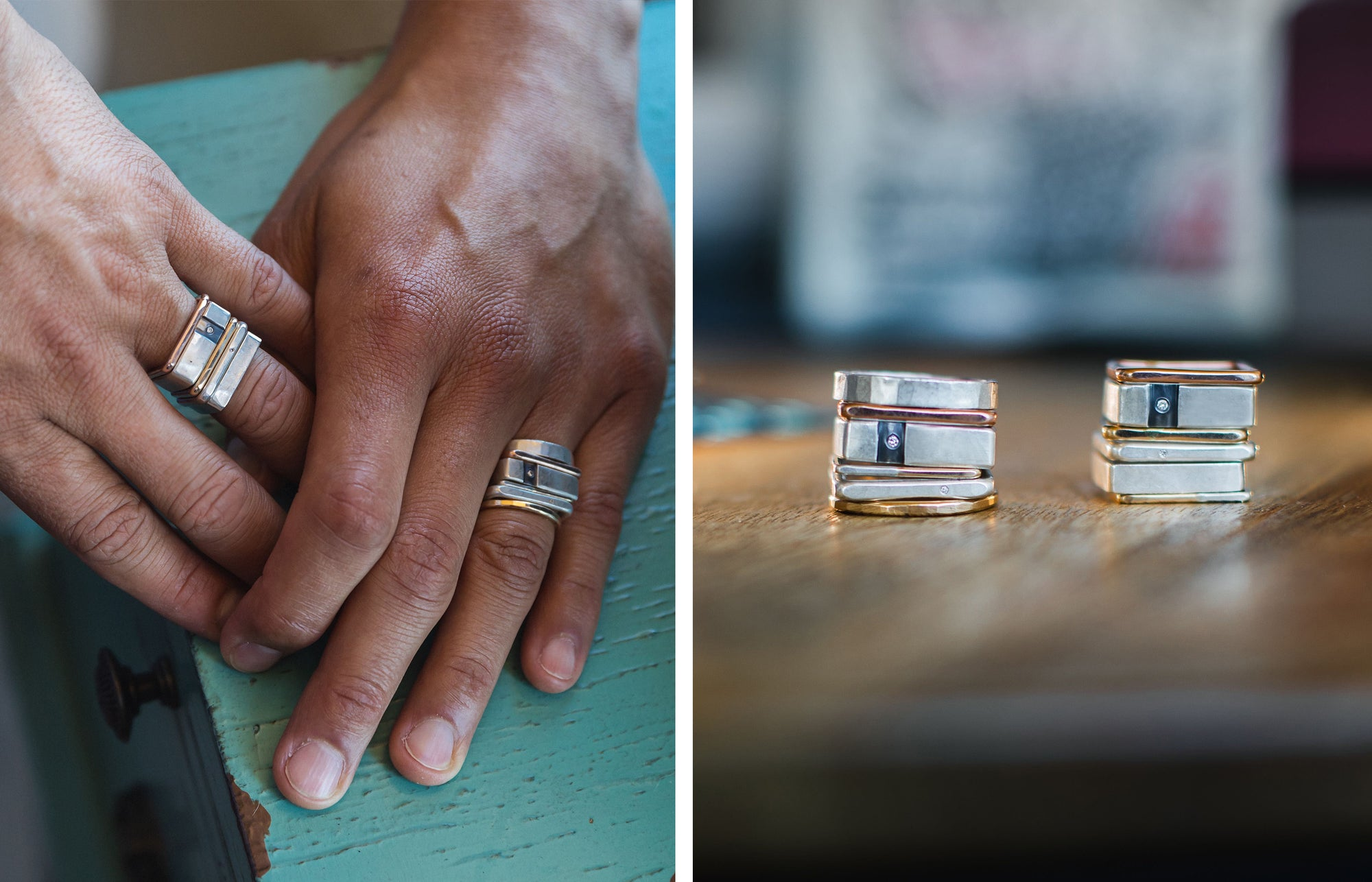 Introducing The Sankil & Christopher Dream Stack Rings