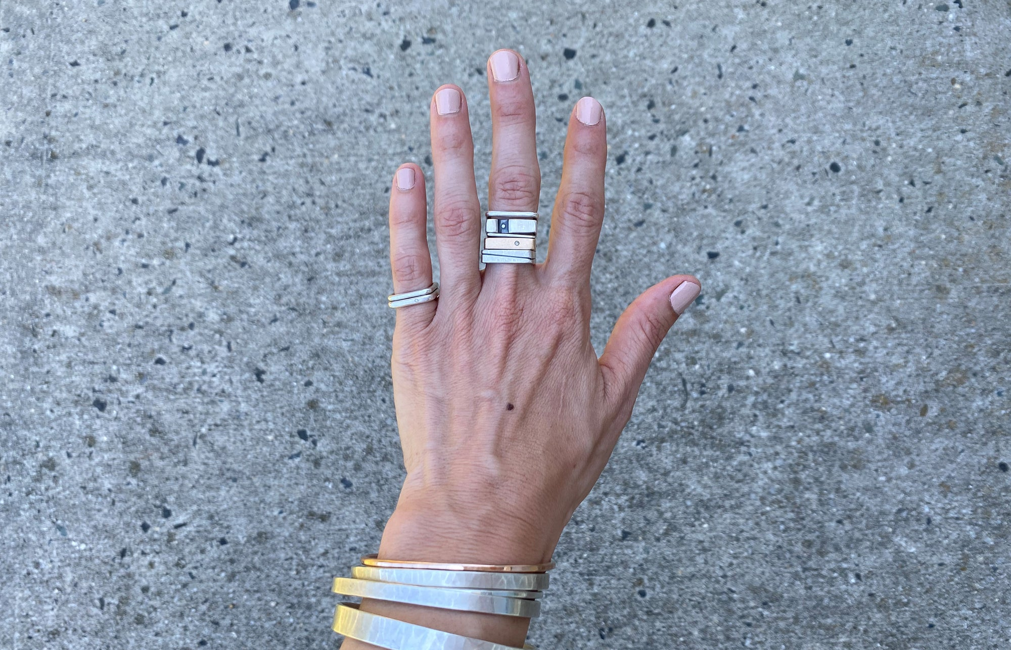 Introducing: The Colleen Power Stack Ring