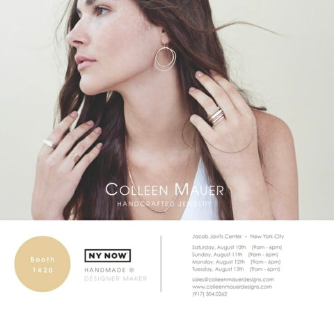 Colleen Mauer Designs at NY NOW August 2019