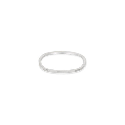 USRS.s Upper Side Round Ring in Sterling Silver
