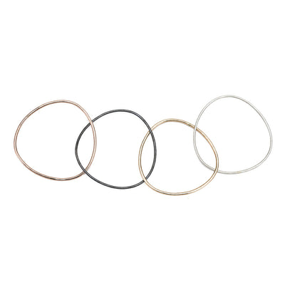 B102.4 4-Loop Four-Color Interlocking Bangle