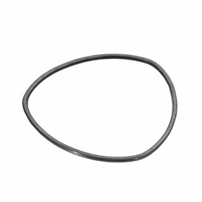 B86x Thick Individual Bangle Bracelet in Oxidized Sterling Silver