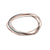 B93.5 5-Loop Tri-Toned Interlockin Bangle Bracelet Set