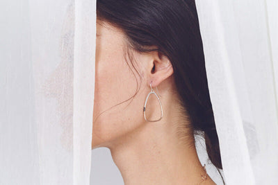 E319t.yg Tri-Toned Triad Earrings
