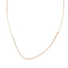 N277g.yg Yellow Gold and Silver Inflecto Necklace on Yellow Gold Chain