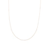 N304g.rg-L Delicate Chain Necklace in Rose Gold and Sterling Silver