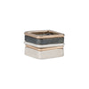 R36x.SQ 5-Stack Tri-Toned Square Densa Ring
