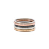 R47.RND 5-Stack Four Color Round Stack Ring