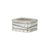3-Stack Line & Diamond Square Ring Set (NEW!)