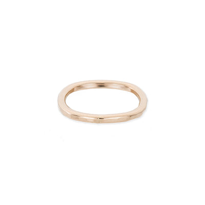TGRS Thick Individual Stacking Ring in Yellow Gold