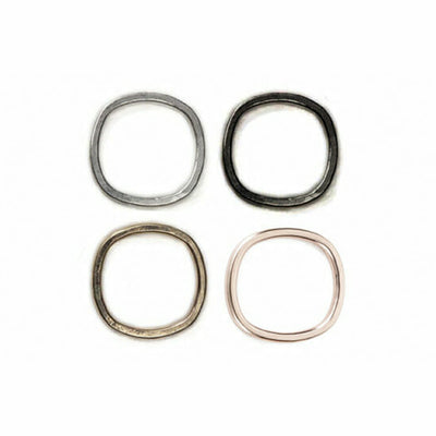 TSRS, TORS, TGRS, TGRS.rg Thick Individual Round Stacking Rings