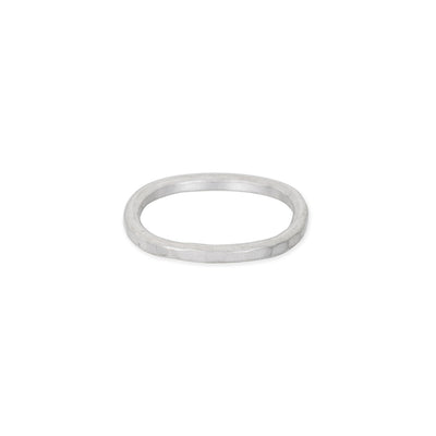 TSRS Thick Individual Stacking Ring in Sterling Silver
