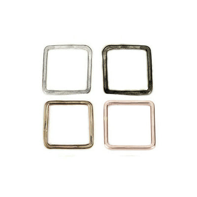 TSSQ, TOSQ, TGSQ, TGSQ.rg Thick Individual Square Stacking Rings