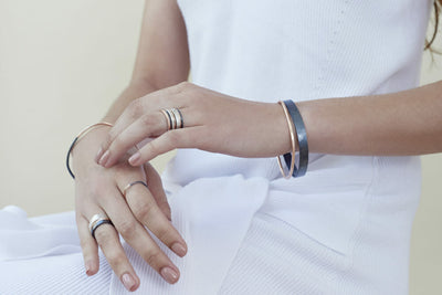Rings and Bracelets - Model View, Postcard Image