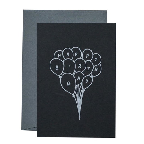 Balloon Bunch - Card