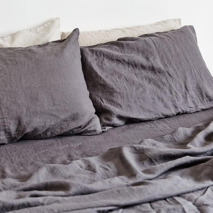 Charcoal Fitted Sheet