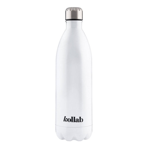 Flask - Shiny White 1 Litre